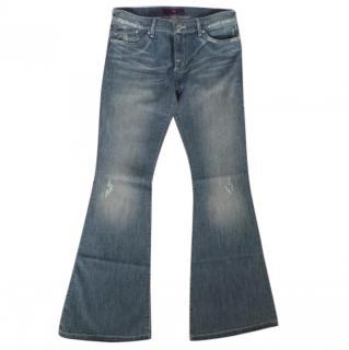 DVB Victoria Beckham Flare Denim Jeans