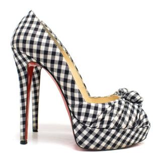 Christian Louboutin Checkered Pumps