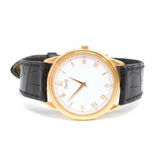 Piaget Altiplano Ultra Thin Unisex Watch with Crocodile Skin Strap