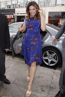 Vivienne Westwood Anglomania Blue Patterned Dress