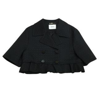 Erdem brice embroidered black jacket