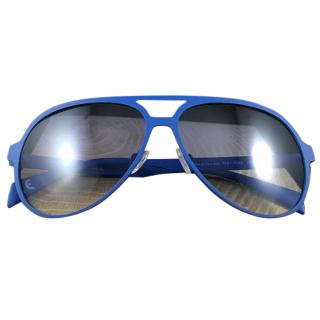 Italian Independent Blue Sunglasses