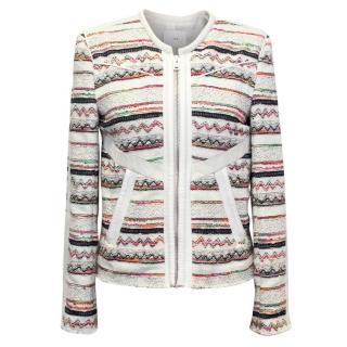 IRO Patterned Zip Jacket