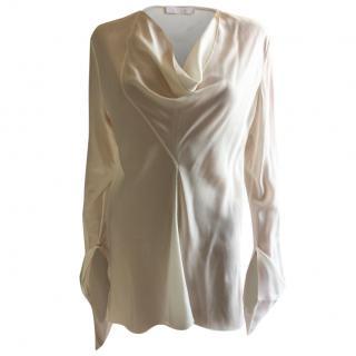 Chloe Ivory Silk Top