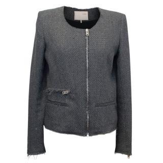 Iro Wool Dark Grey Jacket