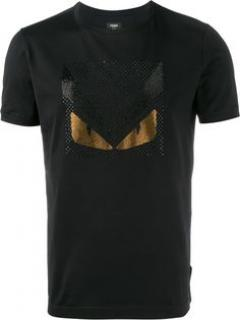 Fendi Bugs 3D T-shirt w/crystals S