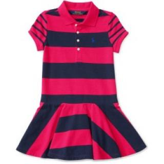 Ralph Lauren Girls Stripe Dress