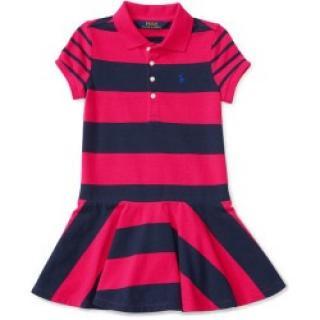 Ralph Lauren Girls Stripe Dress