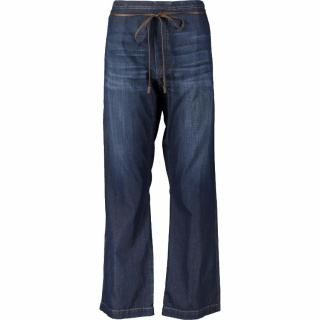 Brunello Cucinelli wide-leg blue jeans