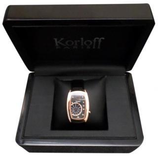 Korloff Watch Swiss-made With 117 Diamonds