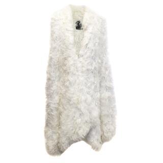 Anna Sui Lamb Fur Gilet