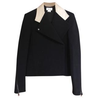 Helmut Lang Black Biker Style Jacket