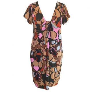 Diane Von Furstenberg silk multi-colour dress