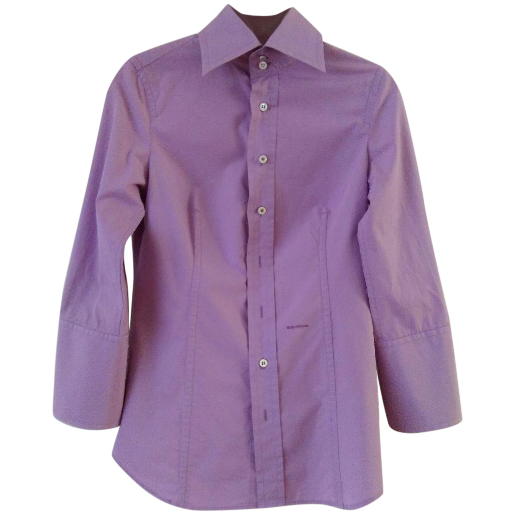 DSQUARED2 cotton shirt pink
