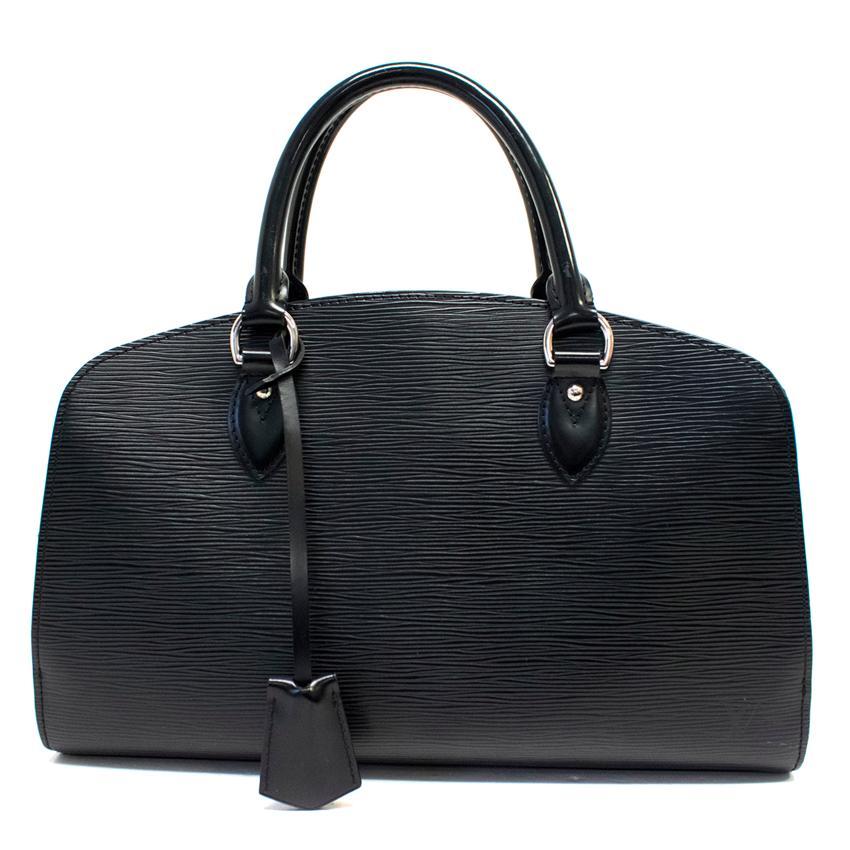 Louis Vuitton Black Epi Leather Handbag