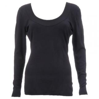 Alaia Low Back Jersey-Knit Top
