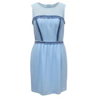 Sandro Blue Mini Dress