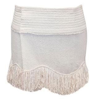 Isabel Marant Cream Wrap Skirt