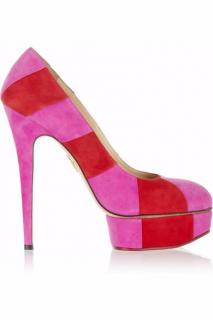 Charlotte Olympia Priscilla Red & Pink Shoes