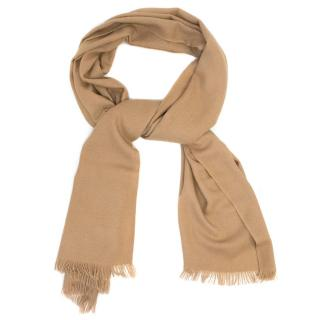 N.Peal Camel Cashmere Pashmina