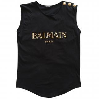 Balmain Black Top