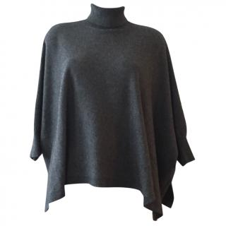 MICHAEL KORS poncho jumper pure cashmere size S