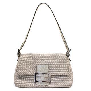 Fendi Silver Mini Mamma Bag