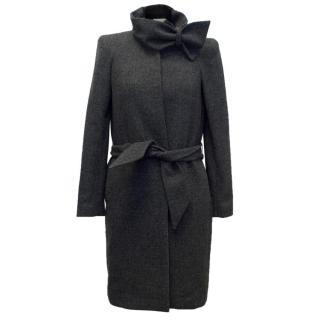 Vanessa Bruno Athe Grey Wool Blend Coat