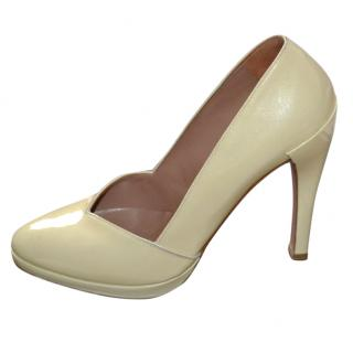 Alaia patent leather shoes