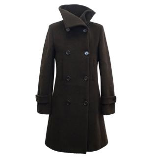 Joseph Wool Brown Coat