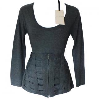 Twenty8Twelve grey knitted jumper top