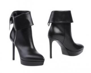 Saint Laurent Black High Heel Boots