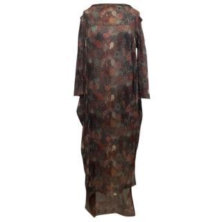Vivienne Westwood Silk Paisley Printed Dress