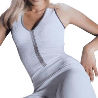 Wolford white string body