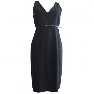 Hugo Boss sleeveless black dress size S