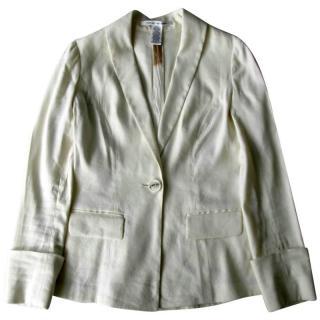 Diane Von Furstenburg Linen 'Bianca' Jacket