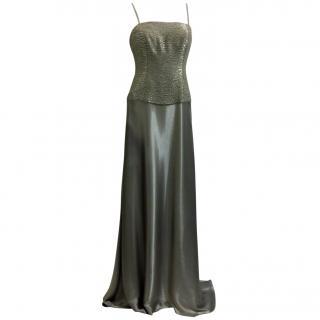 Ralph Lauren Collection Metallic Evening Gown