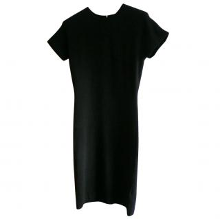 Marc by Marc Jacobs Black Wool Blend Dress