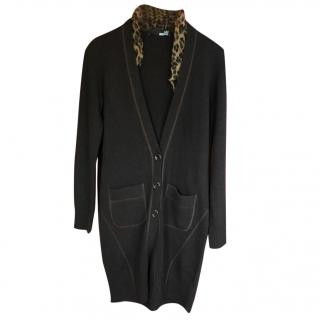 Love Moschino Wool and Cashmere Cardigan