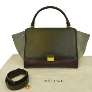 Celine Tri Colour Trapeze Bag