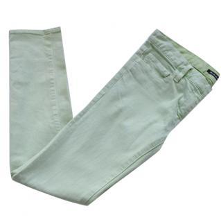 Balmain mint skinny jeans