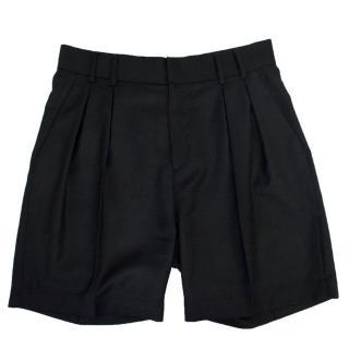 MM6 Maison Martin Margiela Black Tailored Shorts