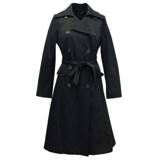 Derek Lam Black Trench Coat