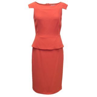 Osman Pink Pencil Dress