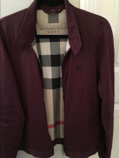 Burberry Brit Men's Short Trench Coat