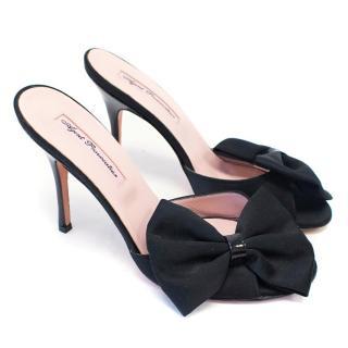 Agent Provocateur Black Heeled Sandals
