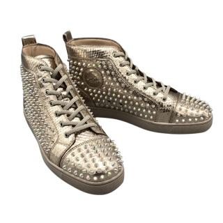 Christian Louboutin Louis Spikes Men's Sneakers