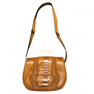 Marc Jacobs Reptile and Suede Luxury Bag