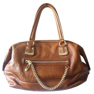 Michael Michael Kors Leather Handbag