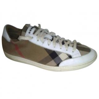 Burberry Printed Trainers